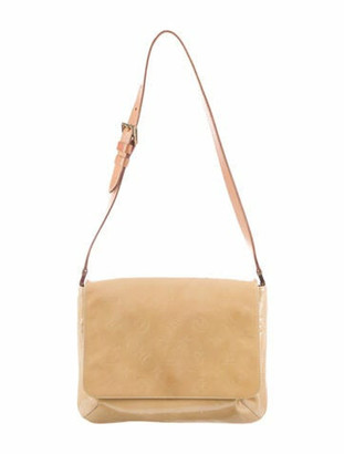 Louis Vuitton Vintage Vernis Thompson Street Beige