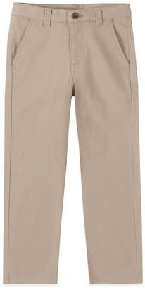 Chaps Boys 4-20 & Husky Flat Front Comfort Slim Fit Pants