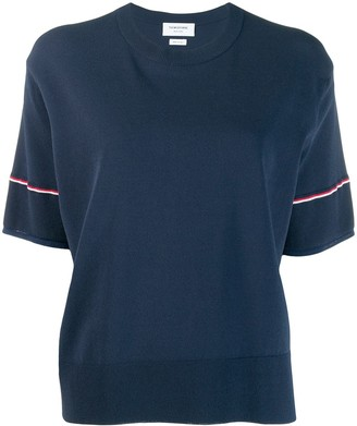 Thom Browne RWB-detail boxy T-shirt