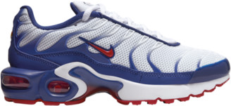 Nike Plus Running Shoes - White / Gym Red