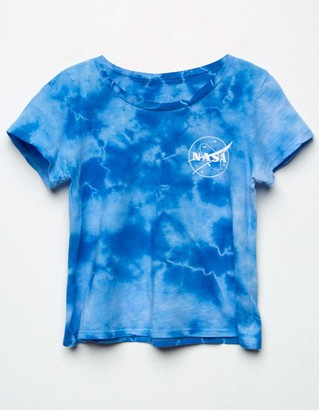 Full Tilt NASA Tie Dye Girls Tee