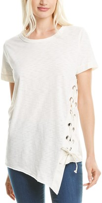 City Sleek Tie-Up T-Shirt
