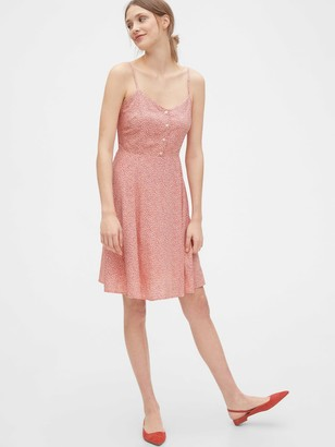 Gap Cami Fit & Flare Dress