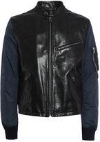Dolce & Gabbana Dolce Gabbana Leather+corduroy Jkt