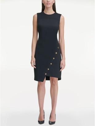 Tommy Hilfiger Essential Asymmetrical Sleeveless Dress