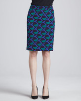 Marc by Marc Jacobs Etta Printed Knit Skirt