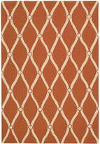 Portico Indoor/Outdoor Area Rug - Orange