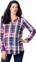 A Pea in the Pod Button Front Maternity Shirt