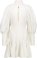 Ellery Butler pleated ponte mini dress