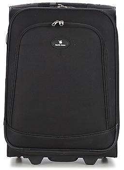 David Jones VERLUDE 41L women's Soft Suitcase in Black