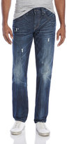 True Religion Geno Relaxed Slim Fit Distressed Jeans