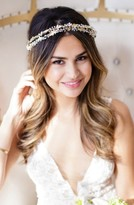 Brides & Hairpins Olympia Double Banded Crystal Halo