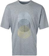 Wooyoungmi embroidered figure T-shirt - men - Nylon/Polyurethane/Viscose - 52