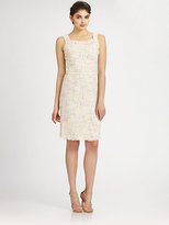 Theia Tweed Dress