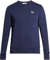 Ami Logo embroidered crew-neck sweater