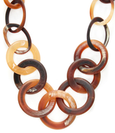 Kenneth Jay Lane Graduated Circles Station Necklace