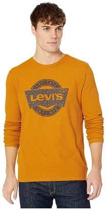 Levi's Expo Thermal T-Shirt (Buckthorn Brown) Men's Clothing