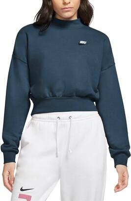 Nike Sportswear Essential Fleece Mock Neck Sweatshirt