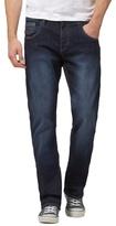 883 Police Dark Blue Mid Wash Bootcut Jeans