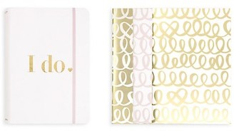 Kate Spade Bridal 4-Piece Notebook & Folio Set