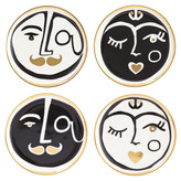 Jonathan Adler Marseilles Coasters - Set of 4