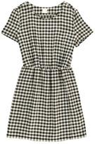 Des Petits Hauts Saturnin Checked Cotton Dress