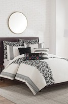 Cupcakes And Cashmere Folk Floral Duvet Cover