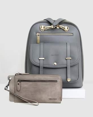 Belle & Bloom Backpack & Wallet Gift Pack