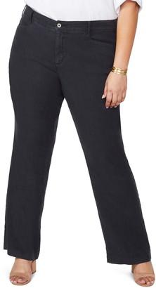NYDJ Stretch Linen Blend Trousers
