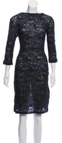 48cb78fcb4f Alexander Mcqueen Knitted Dress - ShopStyle