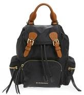 Burberry 'Small Runway Rucksack' Nylon Backpack - Black