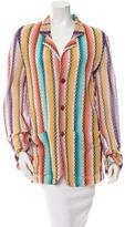 Missoni Patterned Knit Blazer