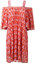 Missoni off shoulder knit dress - women - Polyester/Cupro/Rayon - 38