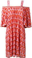 Missoni off shoulder knit dress - women - Rayon/Polyester/Cupro - 40