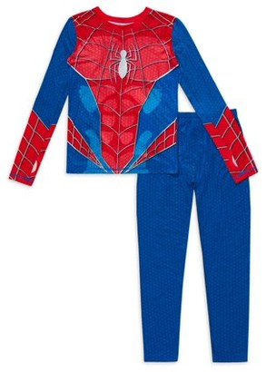 Spiderman Boys Thermal Long Underwear, 2 Piece Set Sizes S - L