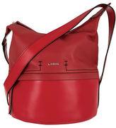 Lodis Toby Leather Crossbody Bucket Bag