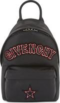 Givenchy Gothic logo nano leather backpack
