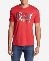 Eddie Bauer Men's Graphic T-Shirt - USA Boards