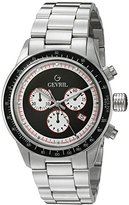 Tribeca Gevril Men's A2114 Analog Display Quartz Silver Watch