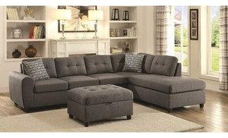 Hudson Wrought Studio Square Reversible Sectional Wrought Studio
