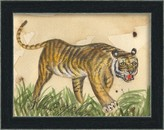 The Well Appointed House Tiger Framed Wall Art for Kids