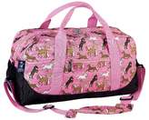 Household Essentials Wildkin Duffel Bag Horses in Pink
