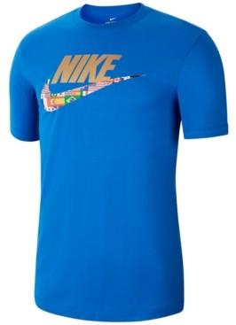 Nike Men's Olympic Flag Swoosh T-Shirt