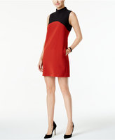 Alfani PRIMA Colorblocked Shift Dress, Only at Macy's