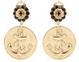 Dolce & Gabbana Anchor Clip-on Earrings