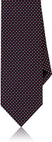 Drakes Drake's Men's Woven Silk Necktie-RED