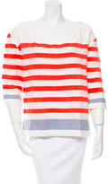 Lemlem Tri-Color Striped Top