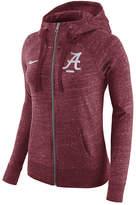 Nike Women's Alabama Crimson Tide Gym Vintage Full-Zip Hoodie