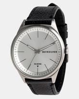 Quiksilver Mens Bienville 44mm Leather Watch