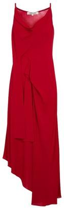 Diane von Furstenberg Amy asymmetric jersey midi dress